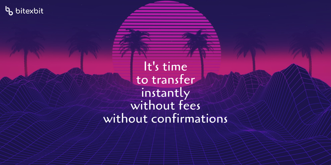 From me to you with 0 fees and 0 confirmations - Internal Transfers at bitexbit