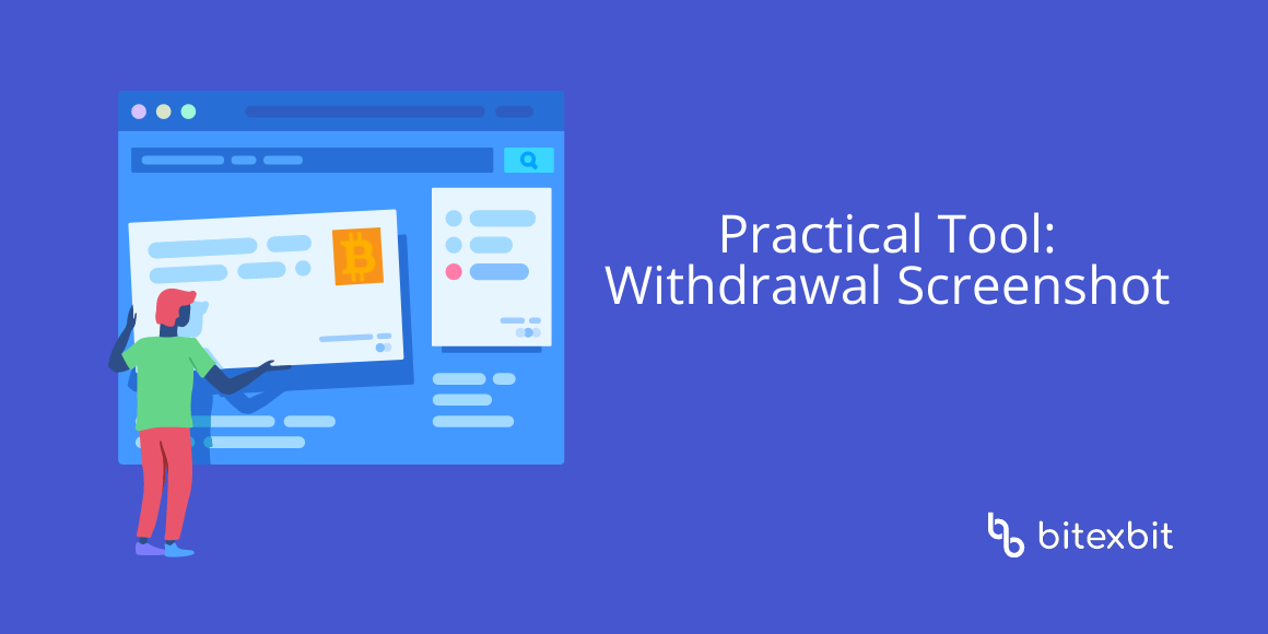 Note about Practical Tool: Withdrawal Screenshot